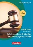 Schulrecht kurz & bündig: Die 55 wichtigsten Urteile