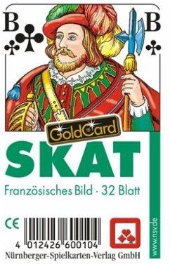 Nürnberger Spielkarten 7024 - Skat Classic, französisches Bild im Klarsichtetui