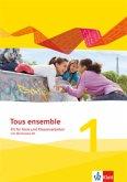 Tous ensemble 1. Fit für Tests und Klassenarbeiten. Arbeitsheft mit Lösungen und CD-ROM. Ausgabe 2013