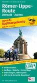 PublicPress Leporello Radwanderkarte Römer-Lippe-Route, Detmold - Xanten