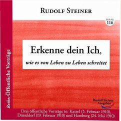Erkenne dein Ich - Steiner, Rudolf