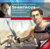 Spartacus - Vom Gladiator zum Rebellenführer, 2 Audio-CDs