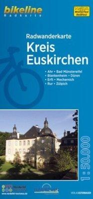 Bikeline Radwanderkarte Kreis Euskirchen
