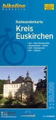 Bikeline Radwanderkarte Kreis Euskirchen Landkarten Portofrei