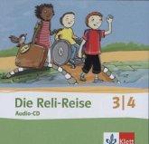 3./4. Schuljahr, Audio-CD / Die Reli-Reise
