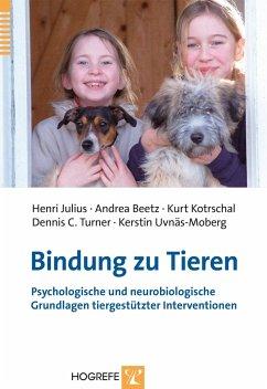 Bindung zu Tieren - Julius, Henri; Beetz, Andrea; Kotrschal, Kurt; Turner, Dennis C.; Unväs-Moberg, Kerstin