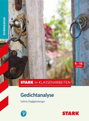 Stark In Klassenarbeiten Deutsch Gedichtanalyse 910 Klasse Gymnasium
