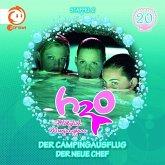 H2O - Plötzlich Meerjungfrau - Der Campingausflug / Der neue Chef, 1 Audio-CD
