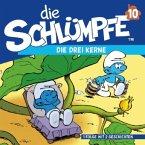 Die drei Kerne / Die Schlümpfe Bd.10, 1 Audio-CD