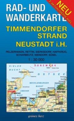 Rad- und Wanderkarte Timmendorfer Strand, Neust...