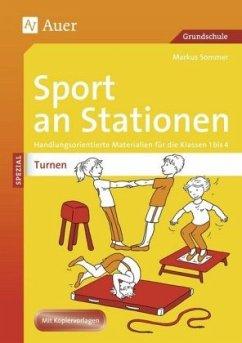 Sport an Stationen SPEZIAL Turnen 1-4 - Sommer, Markus