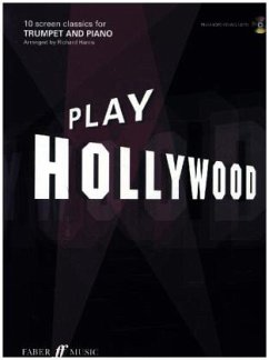 Play Hollywood, trumpet and piano, w. Audio-CD - Harris, Richard