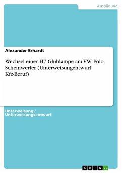 Wechsel einer H7 Glühlampe am VW Polo Scheinwer...