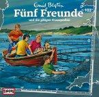Fünf Freunde und die giftigen Feuerquallen / Fünf Freunde Bd.103 (1 Audio-CD)