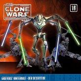 Star Wars, The Clone Wars - Grievous' Hinterhalt / Der Deserteur, 1 Audio-CD