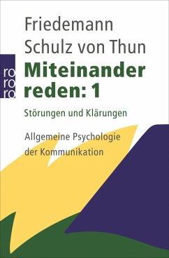 Miteinander reden 1 (eBook, ePUB) - Schulz von Thun, Friedemann