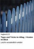 Tipps und Tricks im Alltag / Kosten im Blick (eBook, ePUB)