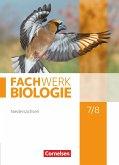 Fachwerk Biologie 7./8. Schuljahr. Schülerbuch. Niedersachsen
