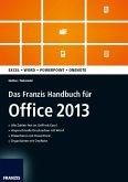 Das Franzis Handbuch für Office 2013 (eBook, ePUB)