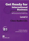 2 Class Audio-CDs / Get Ready for International Business Vol.2