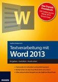Textverarbeitung mit Word 2013 (eBook, ePUB)