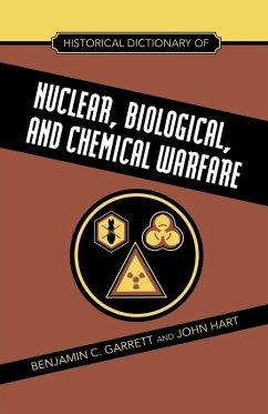 Historical Dictionary of Nuclear, Biological and Chemical Warfare (eBook, ePUB) - Garrett, Benjamin C.; Hart, John