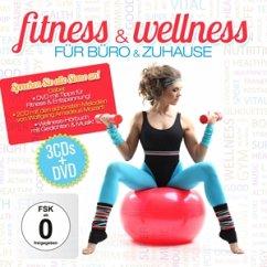 Fitness & Wellness Für Büro Und Zuhause.3cd+Dvd - Diverse