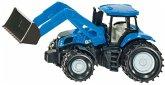 SIKU 1355 - New Holland mit Frontlader, Traktor, Metall/Kunststoff