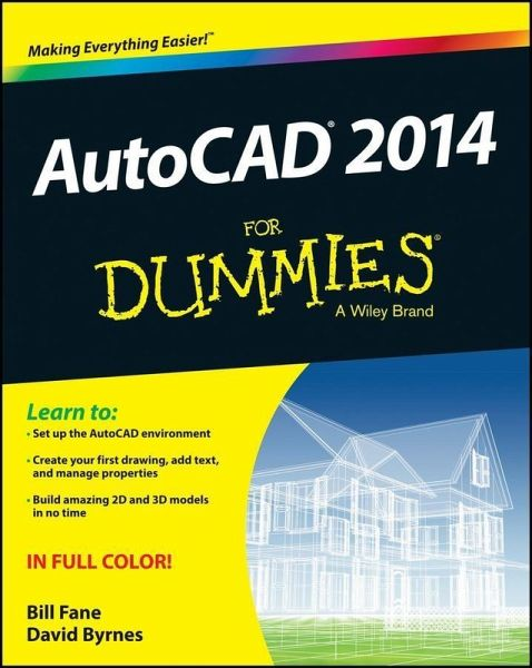 autocad 2014 for dummies ebook pdf von bill fane david. Black Bedroom Furniture Sets. Home Design Ideas