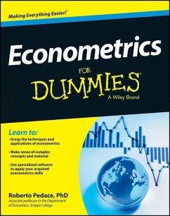 Econometrics For Dummies (eBook, ePUB) - Pedace, Roberto