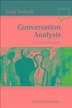 Conversation Analysis (eBook, ePUB) - Sidnell, Jack