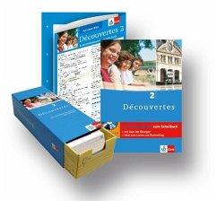 Découvertes 2. Lern-Set: Trainingsbuch, Vokabel-Lernbox, Auf einen Blick Grammatik