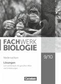 Fachwerk Biologie 9./10. Schuljahr Lösungen. Niedersachsen