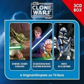 Star Wars, The Clone Wars - Hörspielbox, 3 Audio-CDs