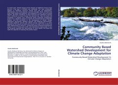 Community Based Watershed Development for Climate Change Adaptation