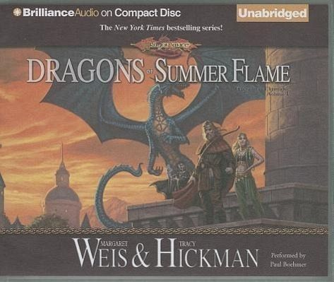 an analysis of dragons of summer flame by margaret weis and tracy hickman The dragonlance saga was the first joint effort of margaret weis & tracy hickman  dragonlance by usage of rhetorical analysis  flame trilogy by mercedes lackey.