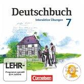 7. Schuljahr, Interaktive Übungen, CD-ROM / Deutschbuch, Gymnasium Östliche Bundesländer und Berlin
