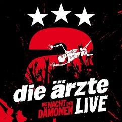 Live-Die Nacht Der Dämonen (3 Cd) - Ärzte,Die