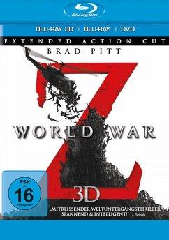 World War Z Extended Edition - Brad Pitt,Mireille Enos,James Badge Dale