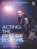 Acting: The First Six Lessons (eBook, PDF)