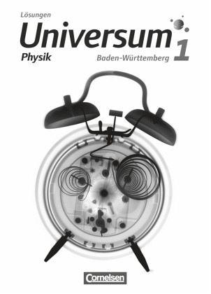 Universum Physik 01. Lösungen zum Schülerbuch