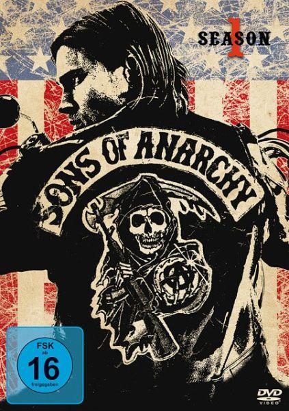 sons of anarchy season 1 4 discs auf dvd portofrei. Black Bedroom Furniture Sets. Home Design Ideas