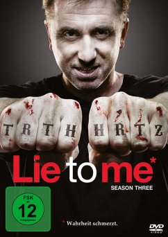 Lie To Me - 3. Staffel DVD-Box