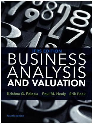 business analysis and valuation using financial statements text and cases The text book business analysis & valuation: using financial statements, text & cases is a unique accounting text book both for its focus areas and structure.