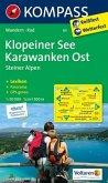 Kompass Karte Klopeiner See, Karawanken Ost, Steiner Alpen