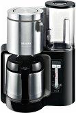 Siemens TC 86503 Kaffemaschine Edelstahl-Thermokanne (für 8 - 12 Tassen) schwarz/silber