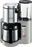 Siemens TC 86505 Kaffemaschine Edelstahl-Thermokanne (für 8 - 12 Tassen) urban grey/schwarz