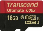Transcend microSDHC MLC 16GB Class 10 UHS-I 600x + SD-Adapter