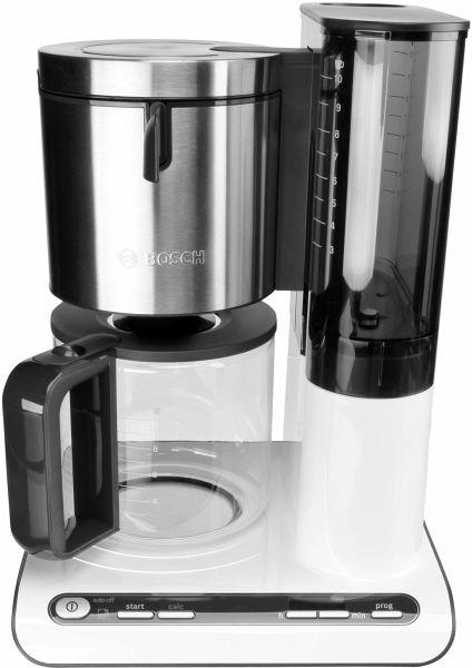 bosch tka 8631 styline kaffeemaschine f r 10 15 tassen wei portofrei bei b kaufen. Black Bedroom Furniture Sets. Home Design Ideas