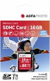 AgfaPhoto SDHC Karte 16GB High Speed Class 10 UHS I
